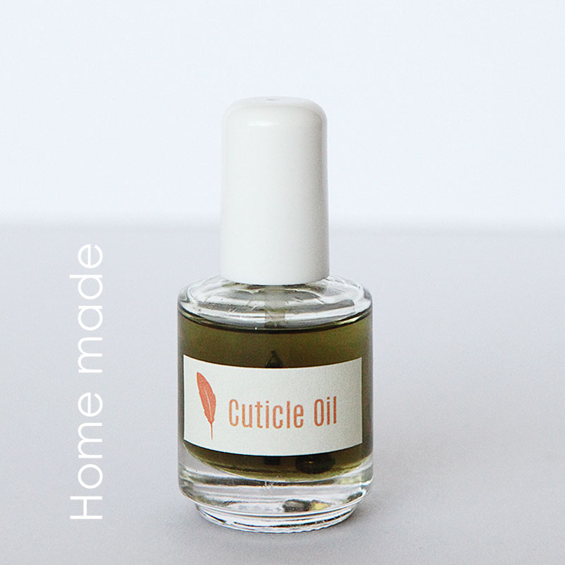 Home made cuticle oil