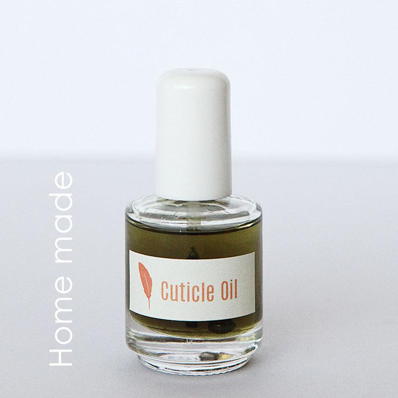 How to make home made all natural cuticle oil