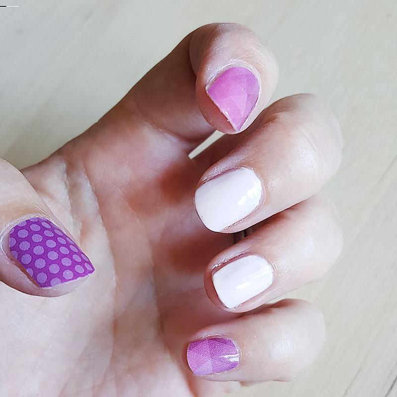 Nail Wraps - polka dots